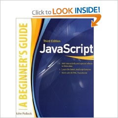 JavaScript, A Beginner's Guide, Third Edition Review